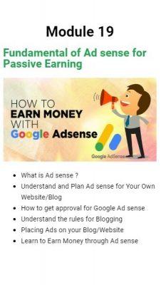 Learn Adsense for Earning