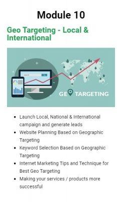 Learn Local area targeting