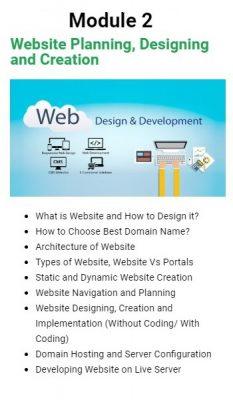 Website Planning and Designing