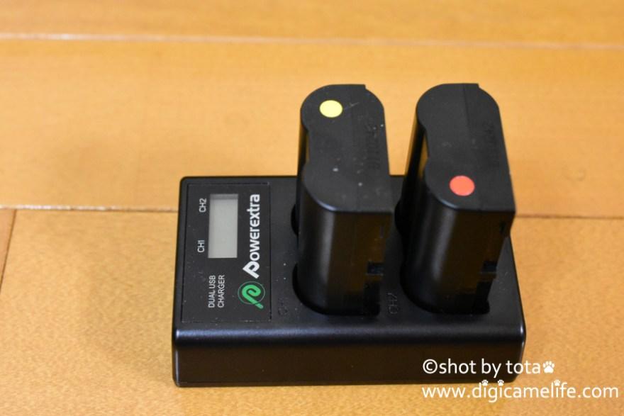 サードバーティ製スペアバッテリー