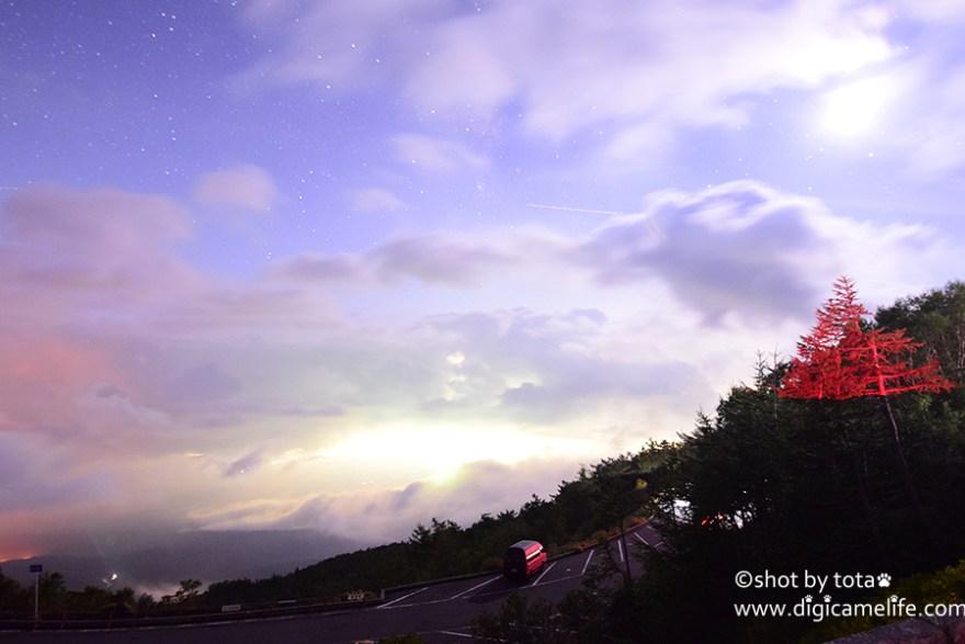 富士山5合目星空01