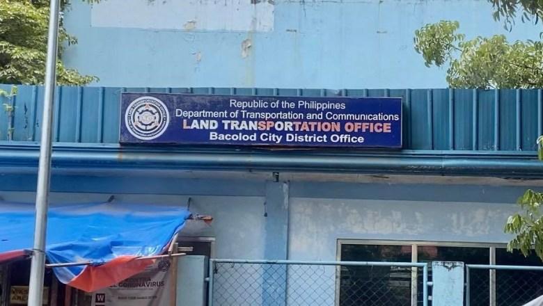 LTO Bacolod naga panindugan nga wala may nabaton nga memo nga untaton ang pagpaagi sa mga light vehicle sa MVIC