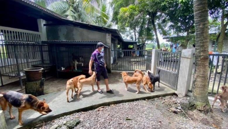 Isa ka anay seaman naga sapupo sang mga gina rescue nga mga ido kag kuring