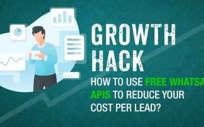 GROWTH HACK: How To Use FREE WhatsApp APIs To Reduce Your Cost Per Lead?