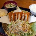 白身魚フライ定食 600円