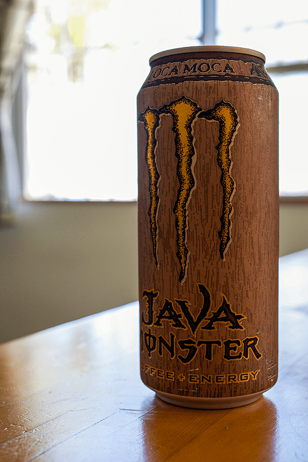 Java Monster Coffee + Energy Drink, Loca Moca