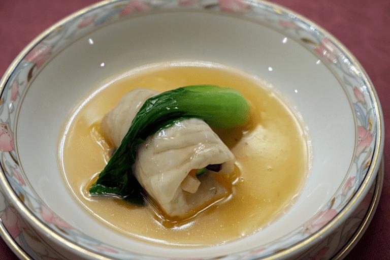 タイの野菜巻き蒸し