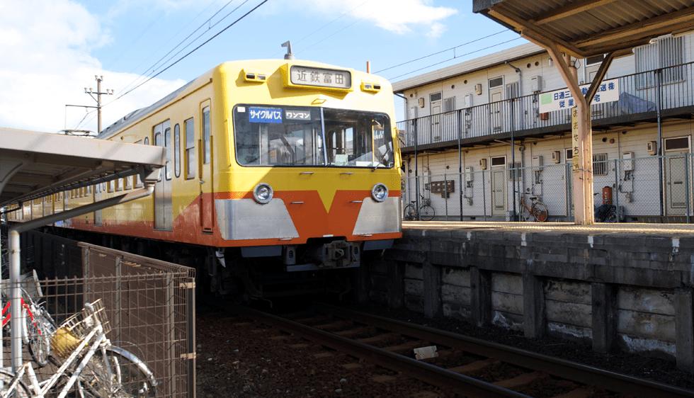 三岐鉄道大矢知駅