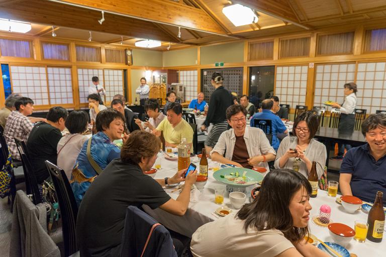 県外参加者多数。