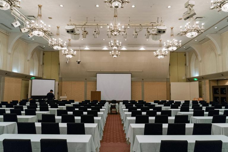 会場は長崎インターナショナルホテル