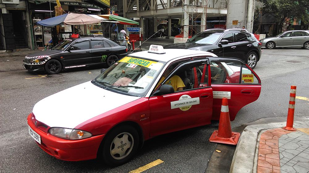 クアラルンプールのタクシー