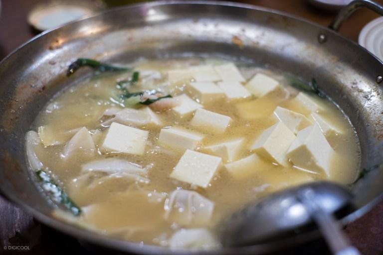 豆腐と水餃子もオススメ