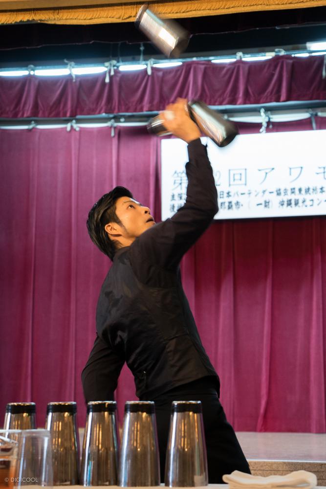 中村智明さんのフレアの演技