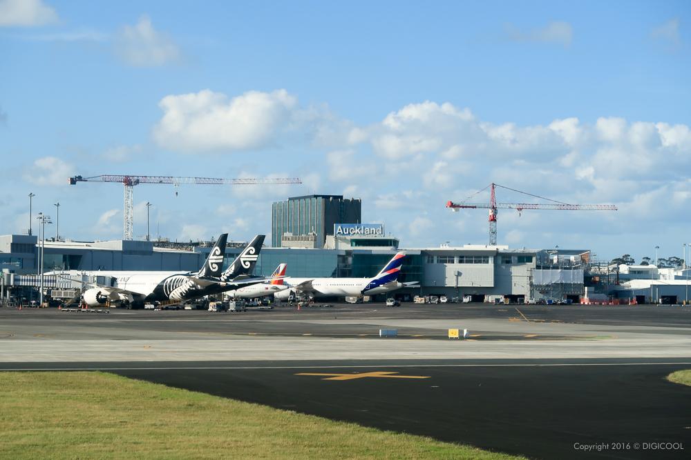 オークランド空港