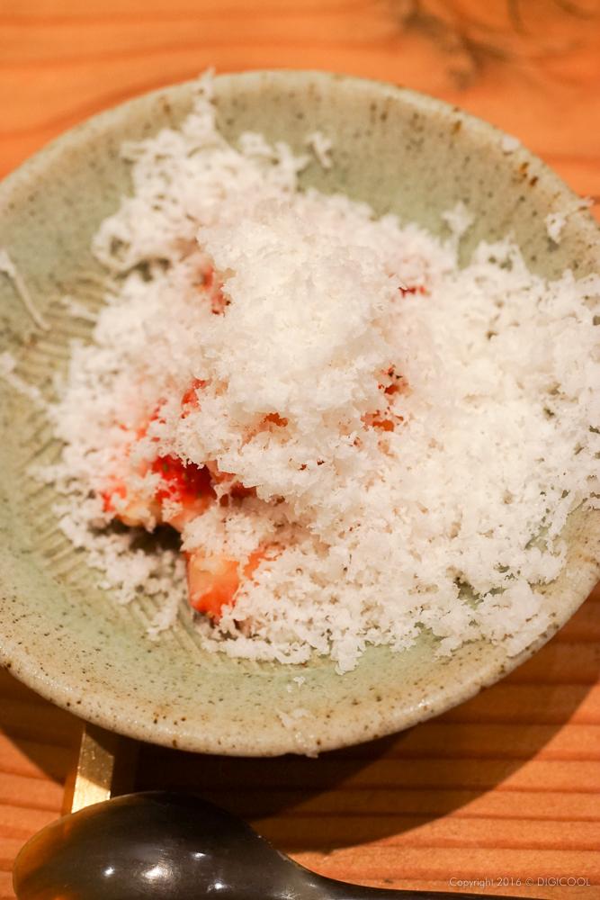 雪苺(甘酒かき氷)