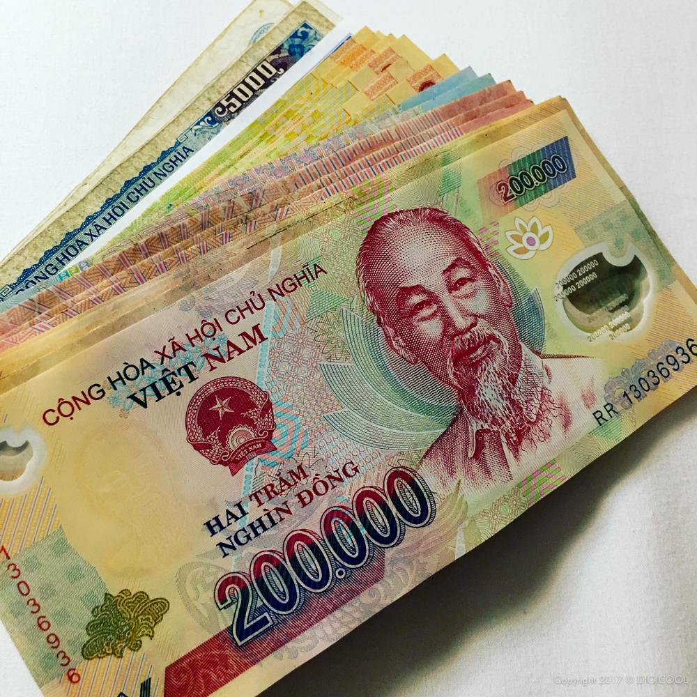 ベトナムの通貨はドン