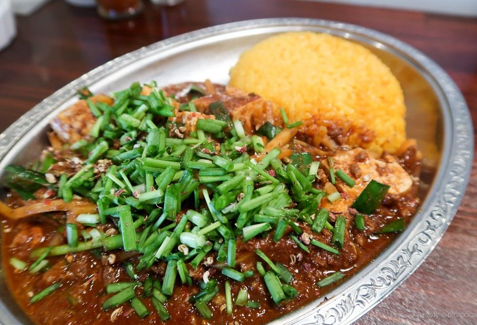島豆腐の四川麻婆カレー