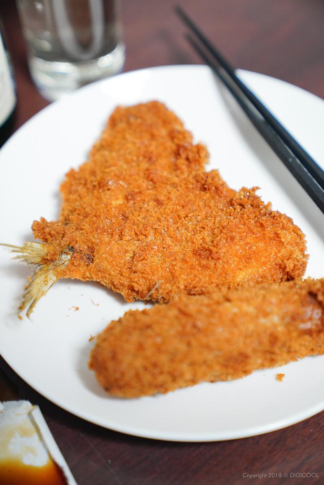 三井精肉店のアジフライとコロッケ