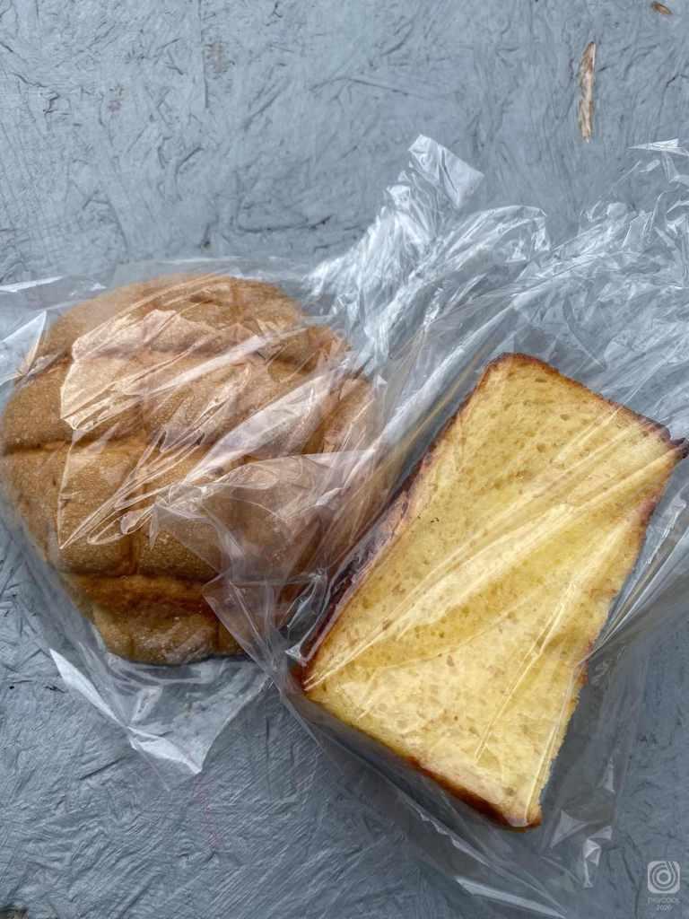 メロンパンとフレンチトースト