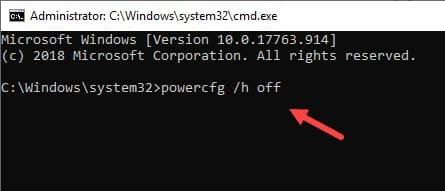 Disable_Hibernation_using_command_prompt