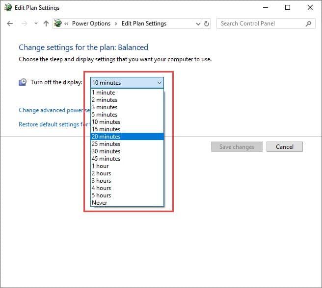 change_sleep_mode_settings