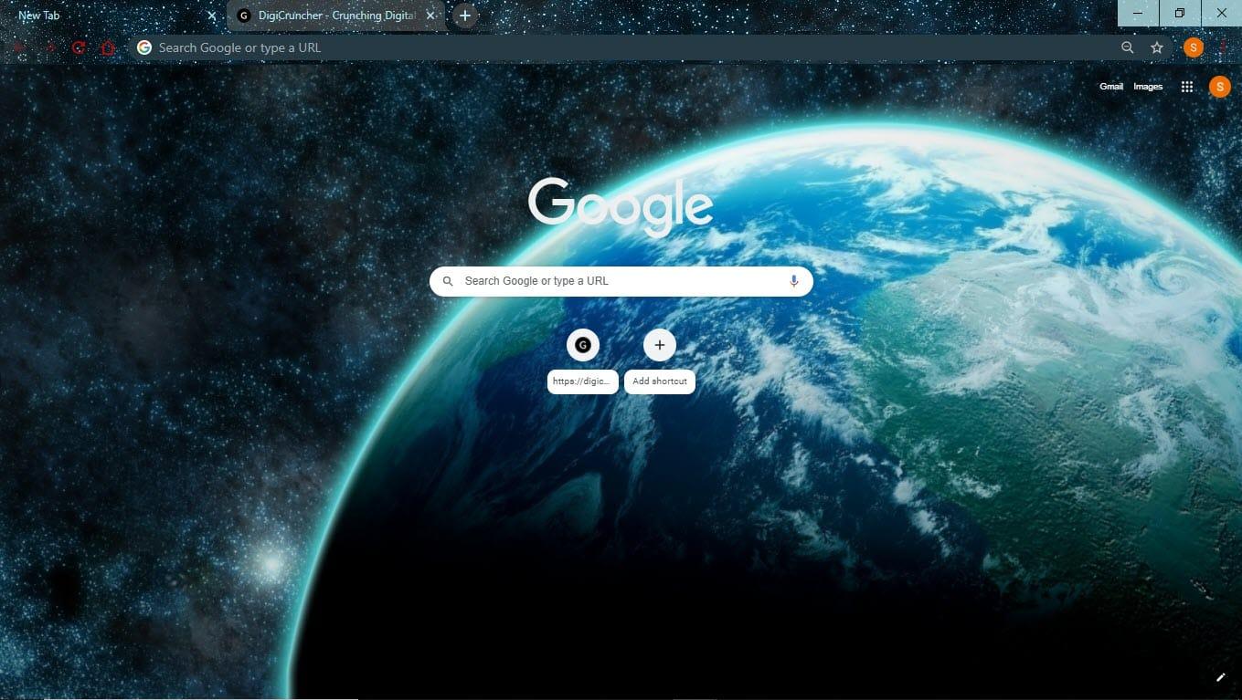 Space_google_chrome_theme