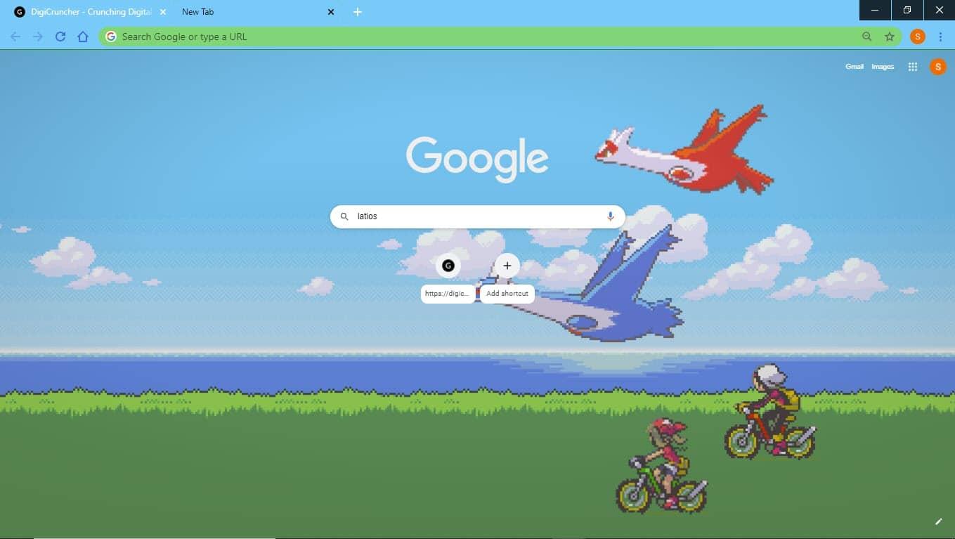 pokemon_ruby_saphire_google_chrome_theme