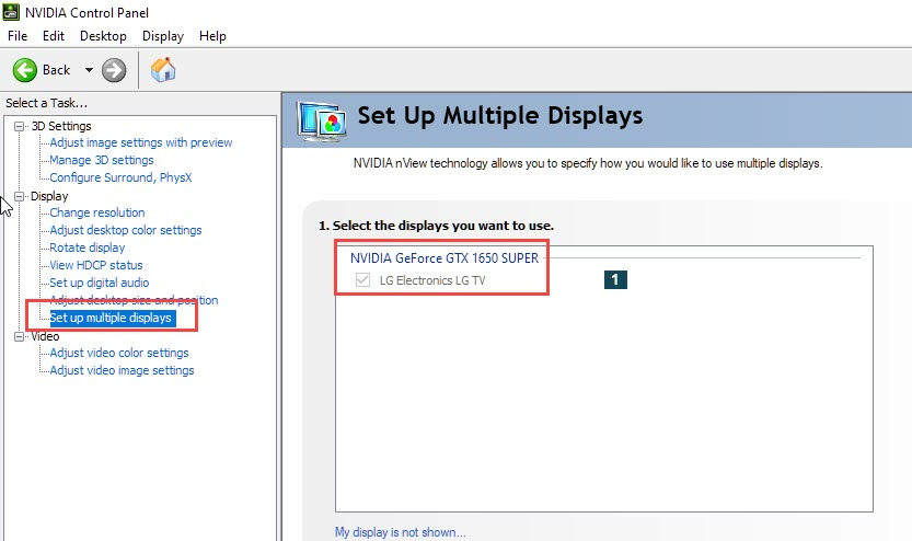 setup_multiple_displays_from_nvidia_control_panel
