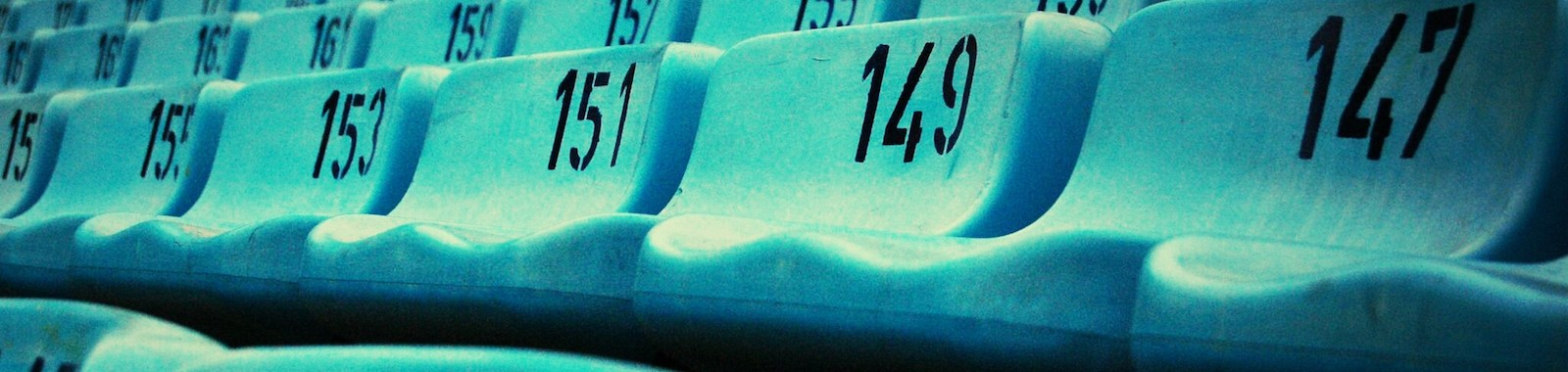Numbers Painted On Chair
