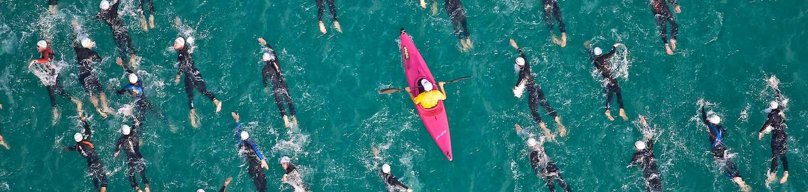 swim at Ironman Austria. from helicopter.Ironman Austria long day picturing friends and pro's for Triangle.