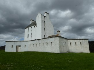 Corgarff Castle on a stormy day makes for a seriously dramatic picture.