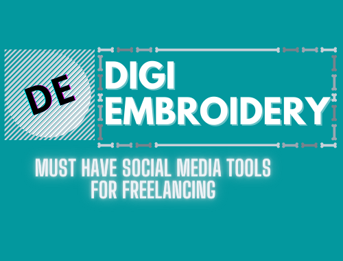 Must-have social media tools for embroidery