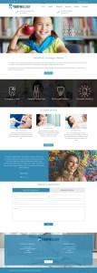 North York Dental Care Clinic ( Custom website design Mockup from Mississauga Agency)
