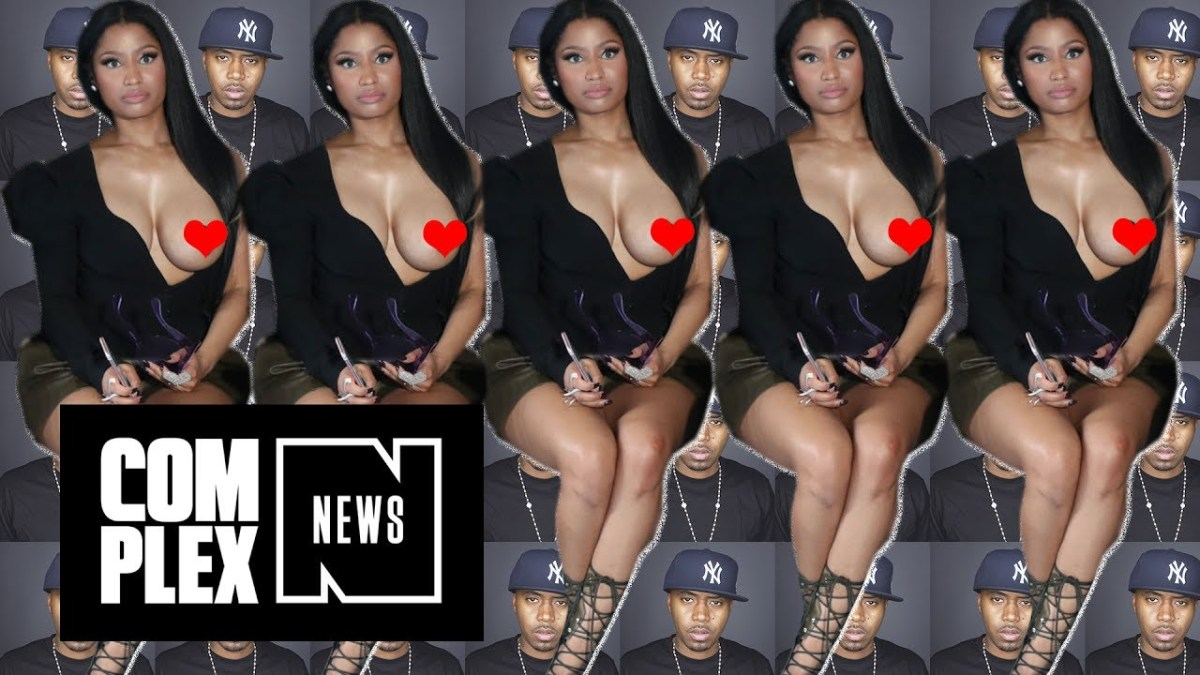 Nicki Minaj Awkwardly Confirms That She's Dating Nas