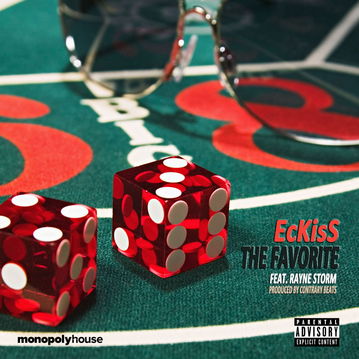 Eckiss - The Favorite ft. Rayne Storm (Prod. by Contrary Beats)