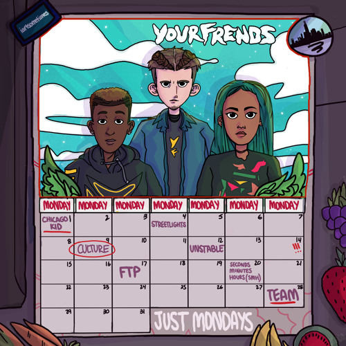 "YOURFRENDS (@YourFrends) - ""Just Mondays"" (EP)"