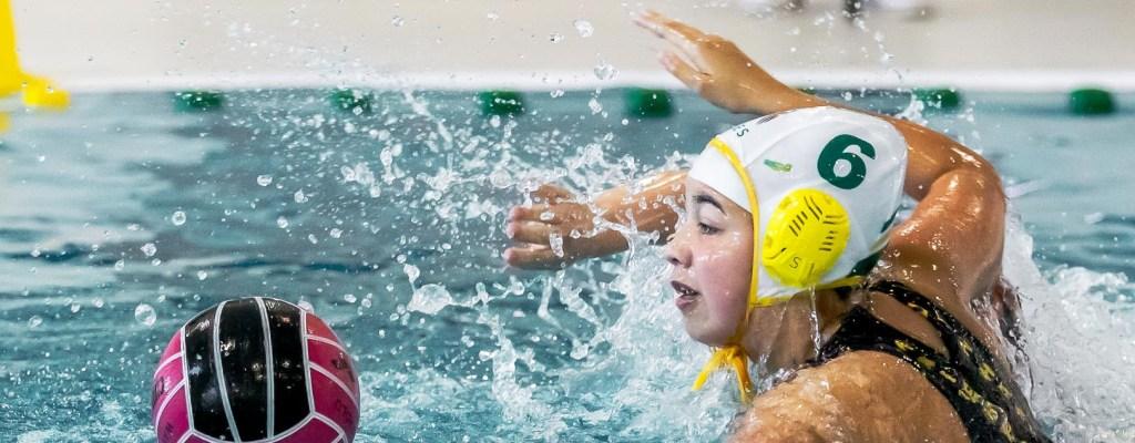 Waterpolo Den Haag team Da1 tegen WZC Da1