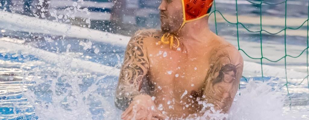 Waterpolo Den Haag team H1 tegen MNC Dordrecht H1