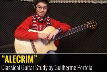 ALECRIM – Estudo de Guitarra Clássica por Guilherme Portela