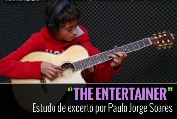 """""""The Entertainer"""" – Estudo de excerto por Paulo Jorge Soares"""