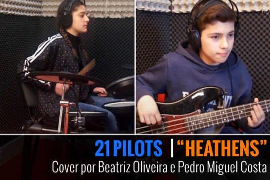 TWENTY ONE PILOTS – HEATHENS – Cover by Pedro Costa & Beatriz Oliveira