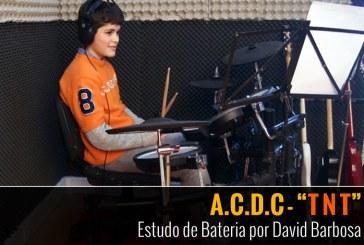 A.C.D.C. – TNT – Estudo de Bateria por David Barbosa