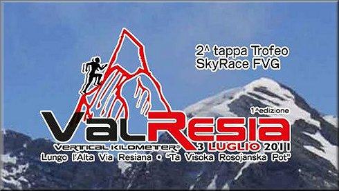 VERTICAL KILOMETER-VAL RESIA  3 LUGLIO 2011