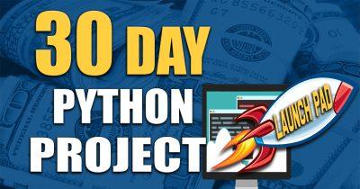 30 Day Python Developer Launchpad