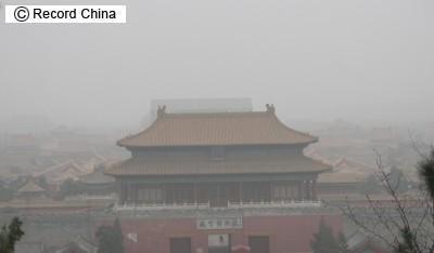 北京の大気汚染状況