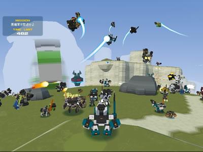 無料ロボットアクションゲーム「ロボ聖紀C21」