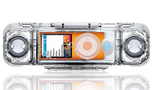 フォーカルポイント、お風呂やプールで使える第4世代iPod nano専用の防水スピーカーを発売