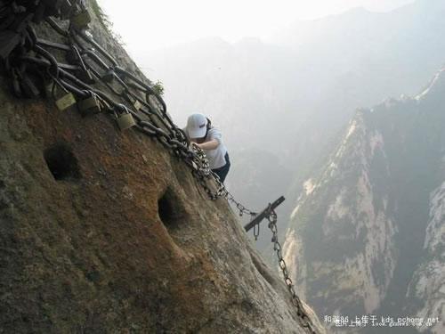 毎年100人は死者が出るという、中国の超危険な登山道