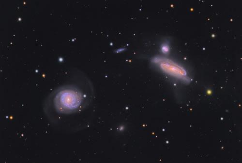 【今日のNASA】天体写真「NGC7771銀河群」