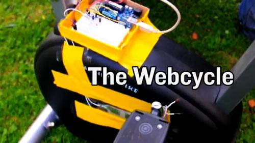 これで運動不足も解消? 漕げば漕ぐほどインターネットの通信速度が速くなる自転車『Webcycle』